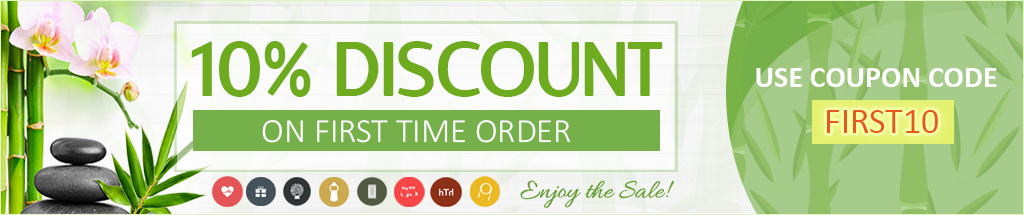 FIRST10 Discount Coupon