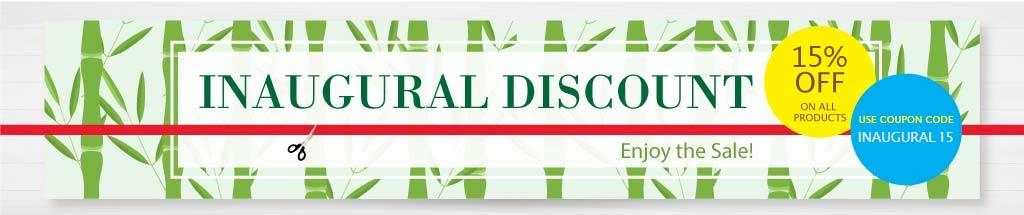BambooGreens Inaugural Discount