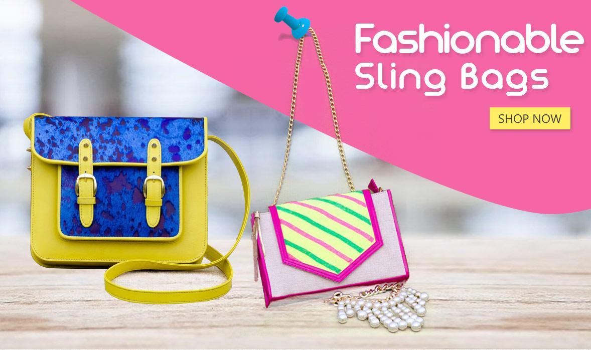 Fashionable Sling Bags