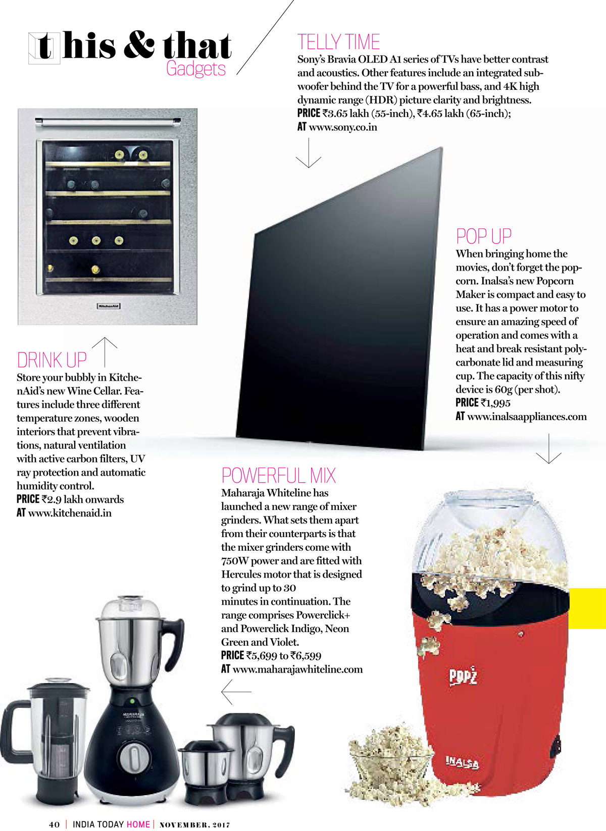 Popcorn Maker - India Today Home Coverage
